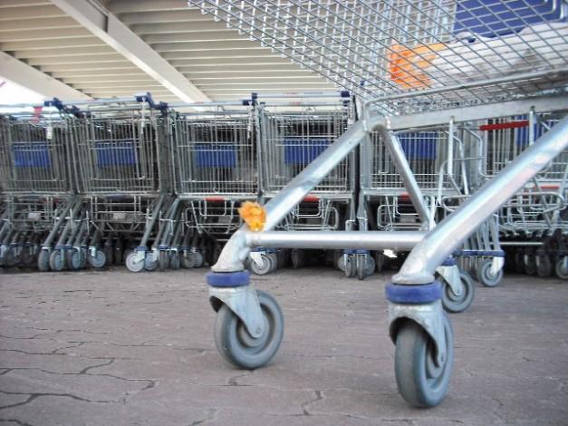 Lev Leo beim Einkaufen